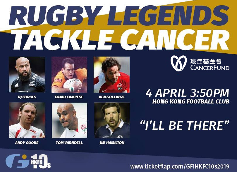 Stars align for Rugby Legends Tackle Cancer match to raise