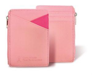 粉紅卡套錢包